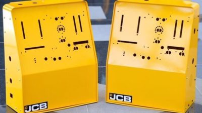 JCB Ventilator Housings to Fight Coronavirus