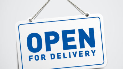 Open for DELIVERY